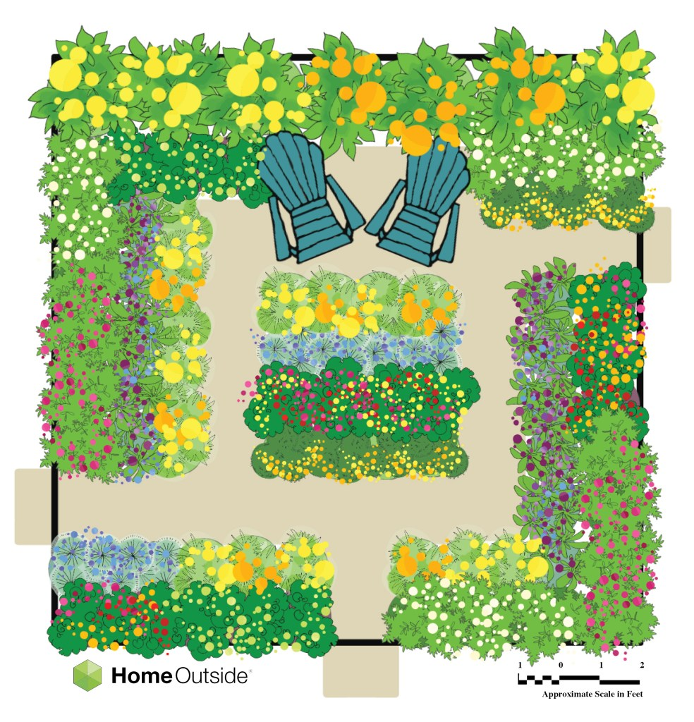 cutting garden design