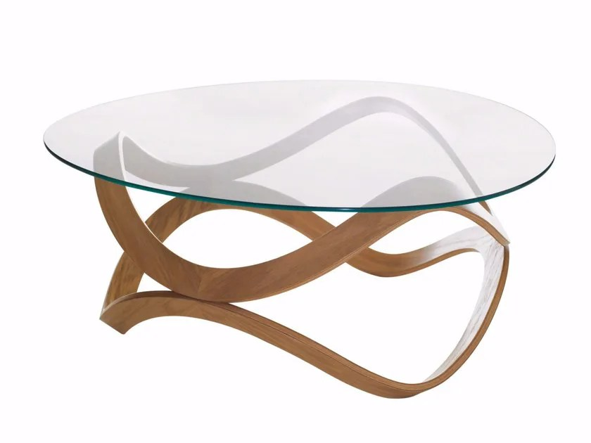 why round glass coffee tables suit