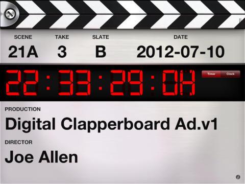 Digital Clapperboard