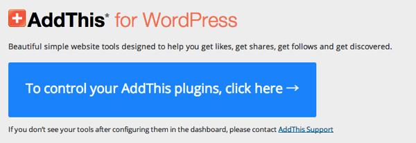 AddThis for WordPress