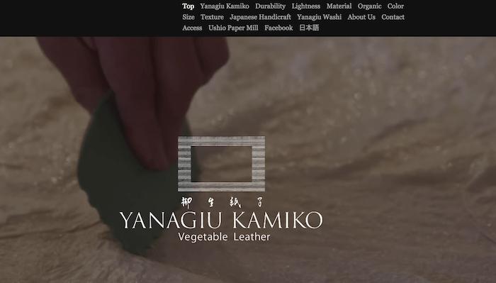 Yanagiu Kamiko on Strikingly