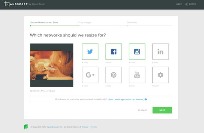 ソーシャルメディアも使用箇所も複数選択ができる