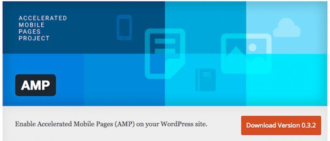 有効化するだけでAMP対応できるプラグイン「AMP」