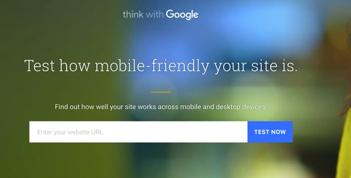 Mobile Website Speed Testing Tool