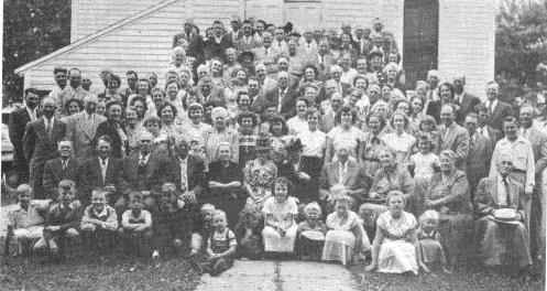 Image result for lutheran congregation 1950 images