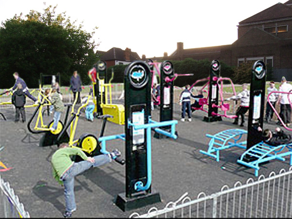OUTDOOR GYM AFTER