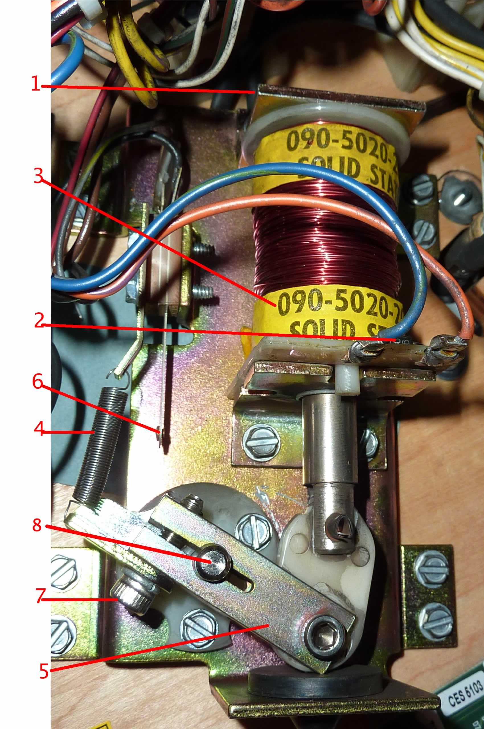 Pinball Machine Flipper Coil Wiring On Standard Wiring Diagram