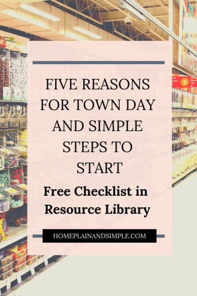 Five Reasons for Town Day and Simple Steps to Start