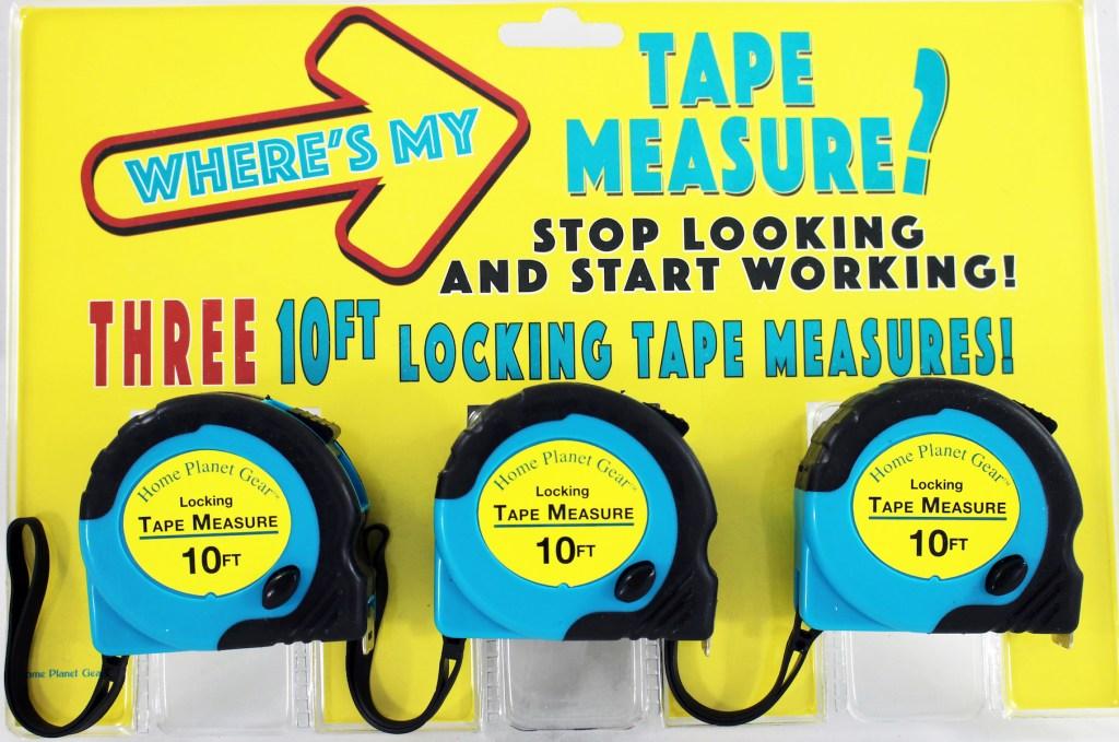 Tape Measures - package