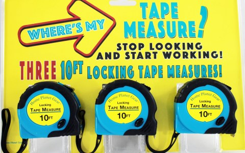 Tape Measures - package