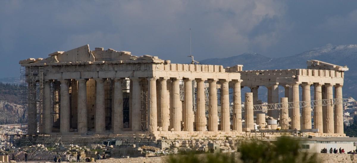 一座希臘神殿的興衰:雅典帕德嫩神殿(Parthenon) | 家+藝術
