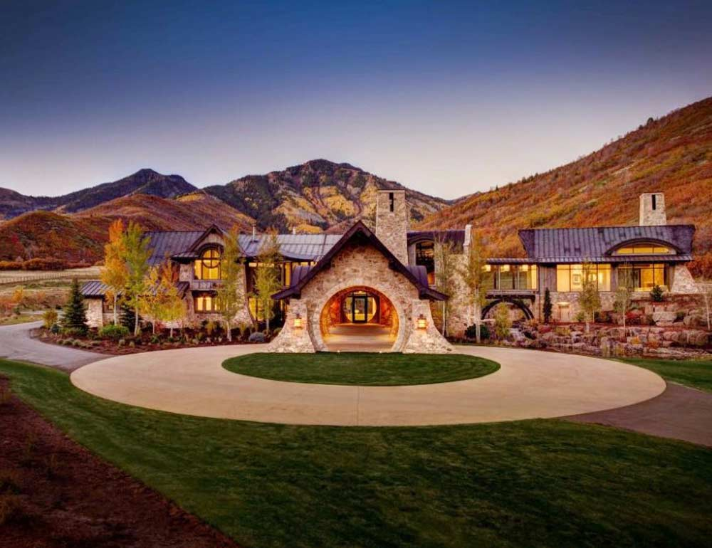stunning homes utah mansion