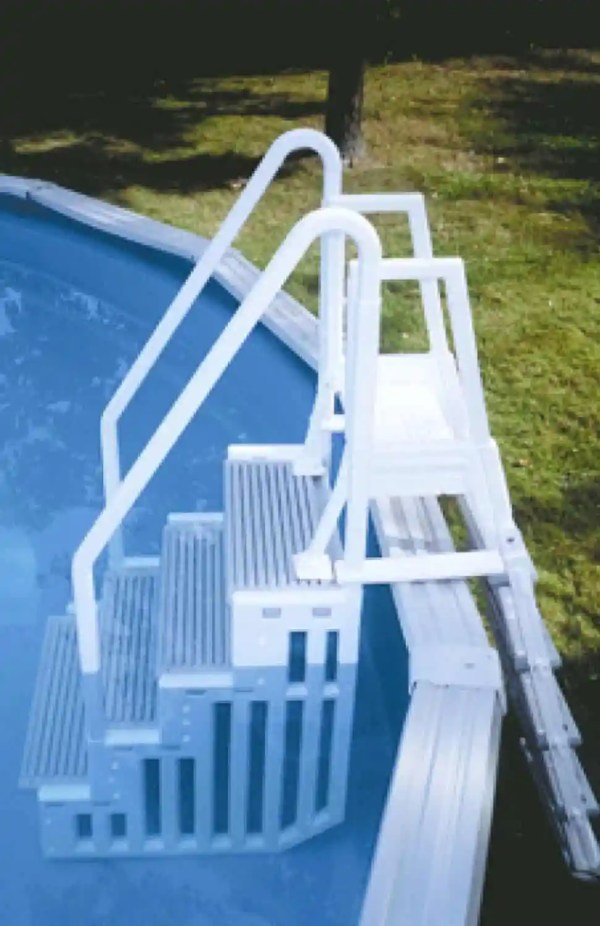 Above Ground Pool Ladders And Steps - Home Pools
