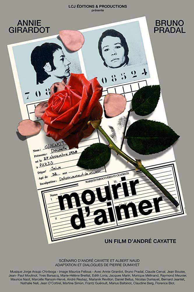 Mourir D Aimer Histoire Vraie : mourir, aimer, histoire, vraie, Blu-ray, Mourir, D'aimer,, Réalisé, André, Cayatte, Homepopcorn.fr