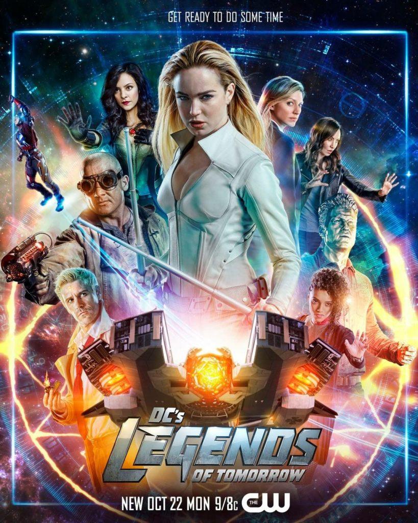 Legends Of Tomorrow Saison 4 Vf : legends, tomorrow, saison, Blu-ray, Legends, Tomorrow,, Saison, Homepopcorn.fr