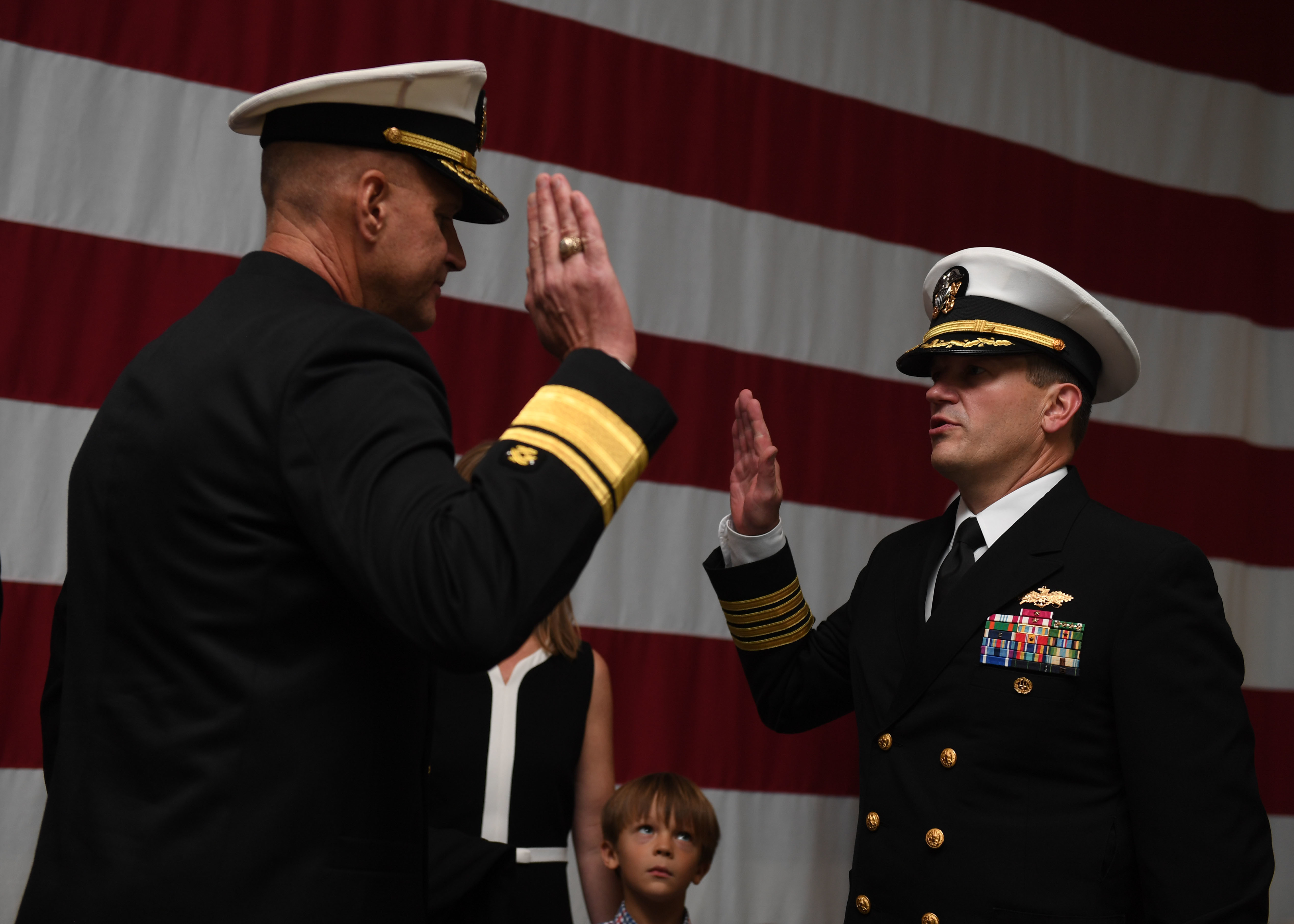 Navy Civil Engineer Corps Recieves Newest Admiral