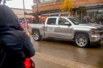 AUBURN, Wash (November 5, 2016) Commander, Navy Region Northwest, Rear Adm. Gary Mayes, rides down Main Street during Auburn's Veterans Day Parade, Nov. 5. The parade, which is in its 51st year, had over 200 entries and nearly 6,000 participants. (U.S. Navy photo by Petty Officer 2nd Class Jacob G. Sisco/Released)