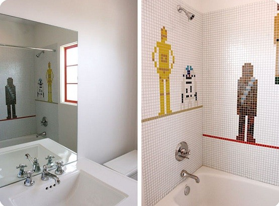 Feel the Space Adventure on Star Wars Bathroom Decor