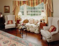 Country Style Living Room Furniture Decorating Ideas ...
