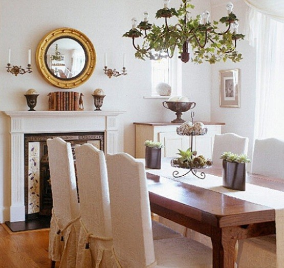 Skirted Dining Room Chairs Inspiration  Home Interiors