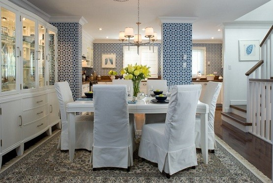 Slip Covers for Dining Room Chairs Ideas  Home Interiors