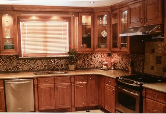 Premade Kitchen Cabinets Application for Saving Space