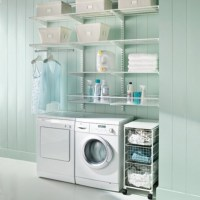 Shelving laundry room accessories | Home Interiors