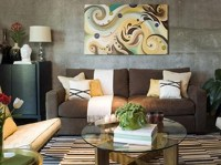 Brown living room decorating ideas for small room | Home ...