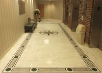 elegant and clean floor tile patern design | Home Interiors