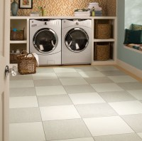 Laundry room Daltile Porcelain Floor Tile | Home Interiors