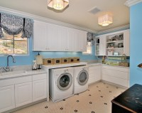 Laundry Room Floor Ideas | Interior Decorating