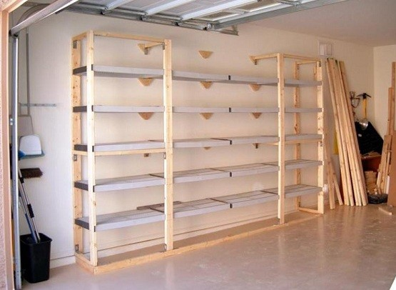 Garage storage shelving plans Garage Shelves Plans – Step by Step