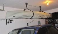 How To Create Kayak Garage Storage   Home Interiors
