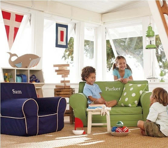 pottery barn oversized anywhere chair 50 s diner table and chairs why personalized kids are recommended? | home interiors