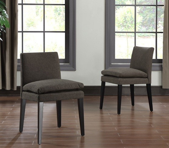 chocolate leather dining chairs little castle chair and a half glider reviews some samples of the best low back for your home | interiors