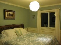 Flush mount light for low ceiling bedroom | Home Interiors