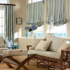 Blue And Brown Living Room Curtains Tv Wall Unit Design Decorating Your Small Using ...