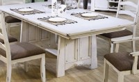 Capture Beauty by Distressed Wood Dining Table | Home ...