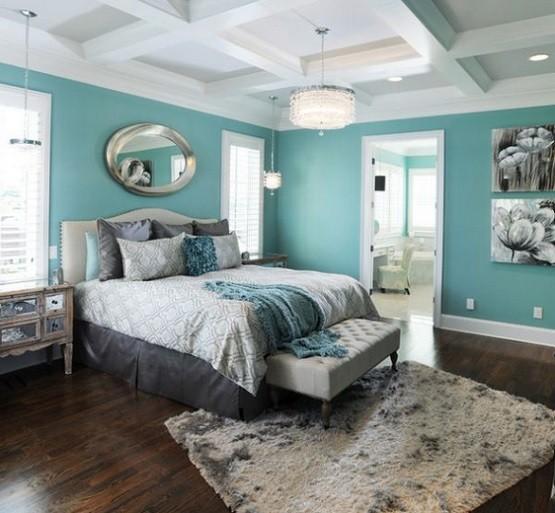 Feng shui green bedroom