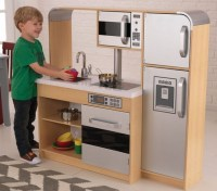 Contemporary design wooden play kitchen sets | Home Interiors