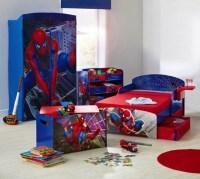 Spiderman furniture set for toddler boy bedroom ideas ...