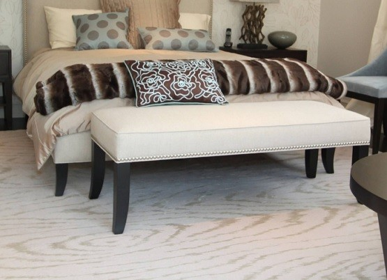 White Bedroom Bench Seat - Moncler-Factory-Outlets.com