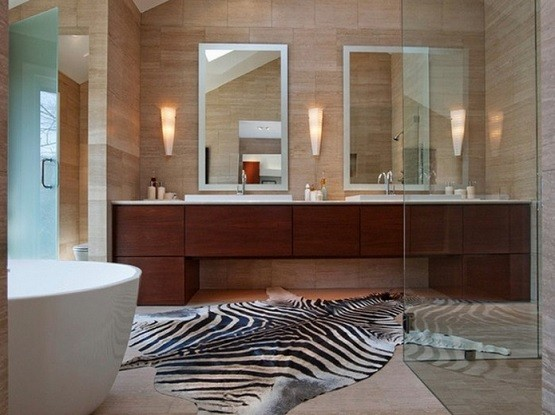 Large Bathroom Rugs and Mats Design  Home Interiors