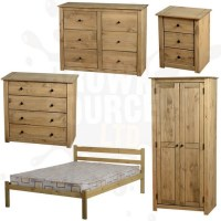 Solid wood unfinished bedroom furniture