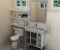 Storage ideas for small bathrooms from IKEA | Home Interiors