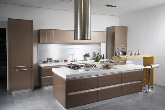 Contemporary Kitchen Design With Smart Concept Home Interiors
