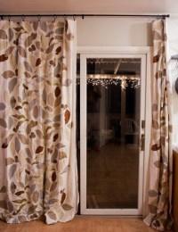 Glass Door  Curtain For Sliding Glass Door - Inspiring ...