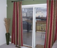 sliding glass door drapes  Roselawnlutheran