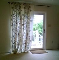 Glass Door  Curtain Ideas For Sliding Glass Doors ...