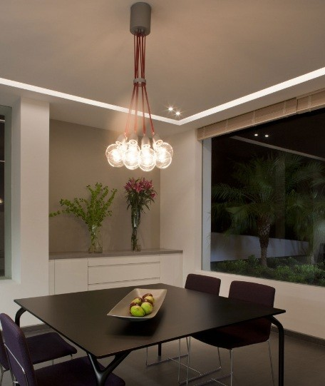 Simple bulb pendant light fixtures for dining room  Home Interiors
